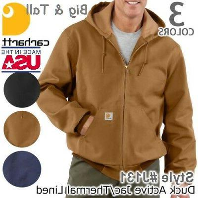 mens big and tall thermal lined duck