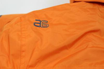 Mens Insulated Winter Jacket, Burnt Orange,