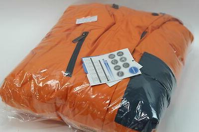 Mens Cliff Winter Jacket, Orange, Large