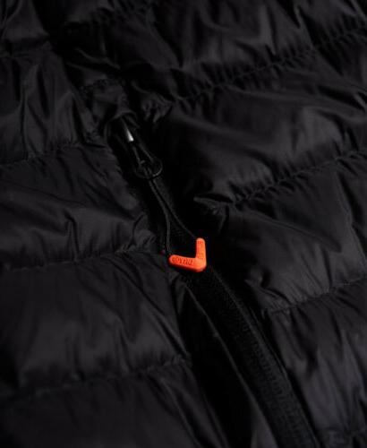 Mens Core Hooded Black