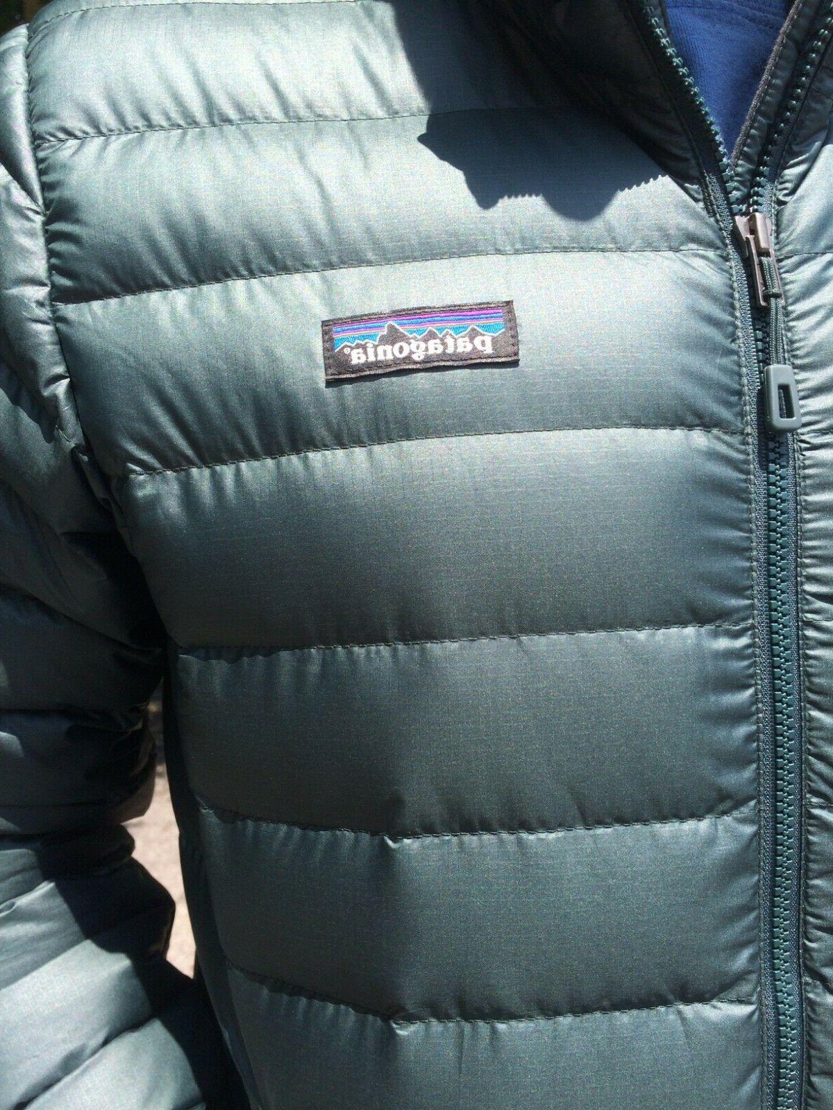 Patagonia mens Down Sweater Jacket brand new w BLACK