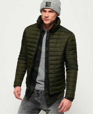 mens fuji double zip jacket olive