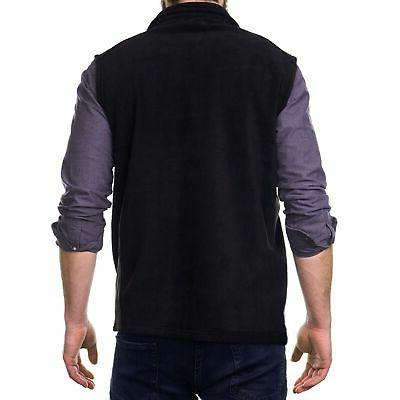 Alpine Swiss Zip Up Vest Lightweight Warm Sleeveless