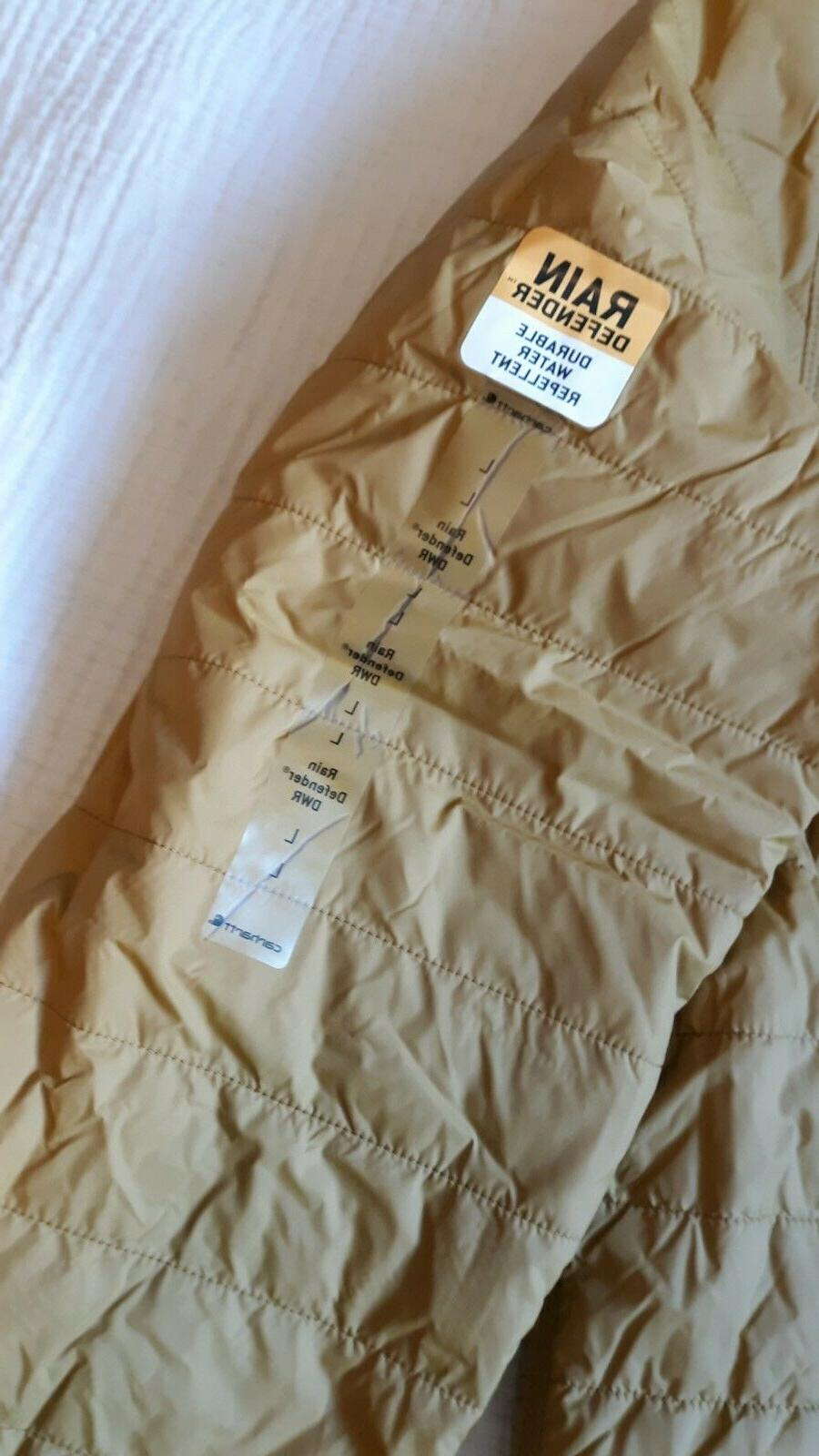 Carhartt Brown, Large, Insulated