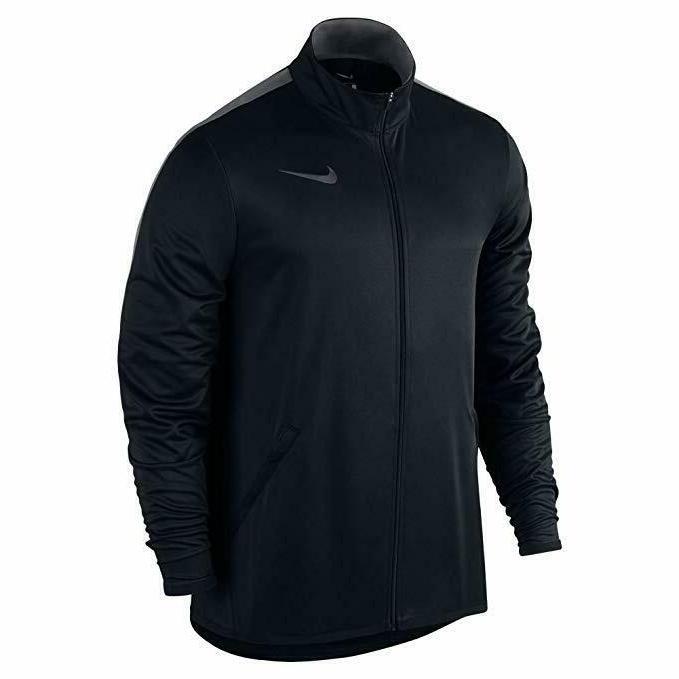 NIKE Mens Jacket Epic Knit,Black/Dk Grey,X-Large