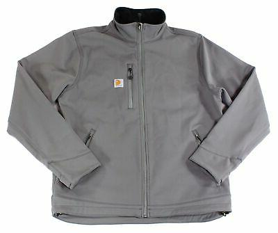 mens jacket gray size large l full