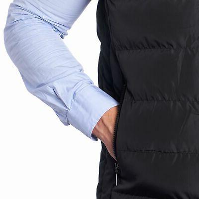 Alpine Swiss Mens Down Vest Sleeveless Jacket