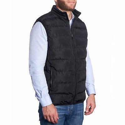 Alpine Swiss Mens Down Alternative Puffer Vest Sleeveless Jacket