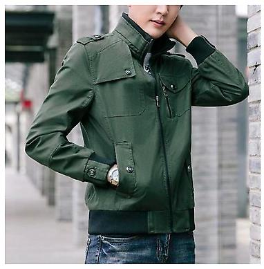 Mens Style Casual Jacket with Zipper