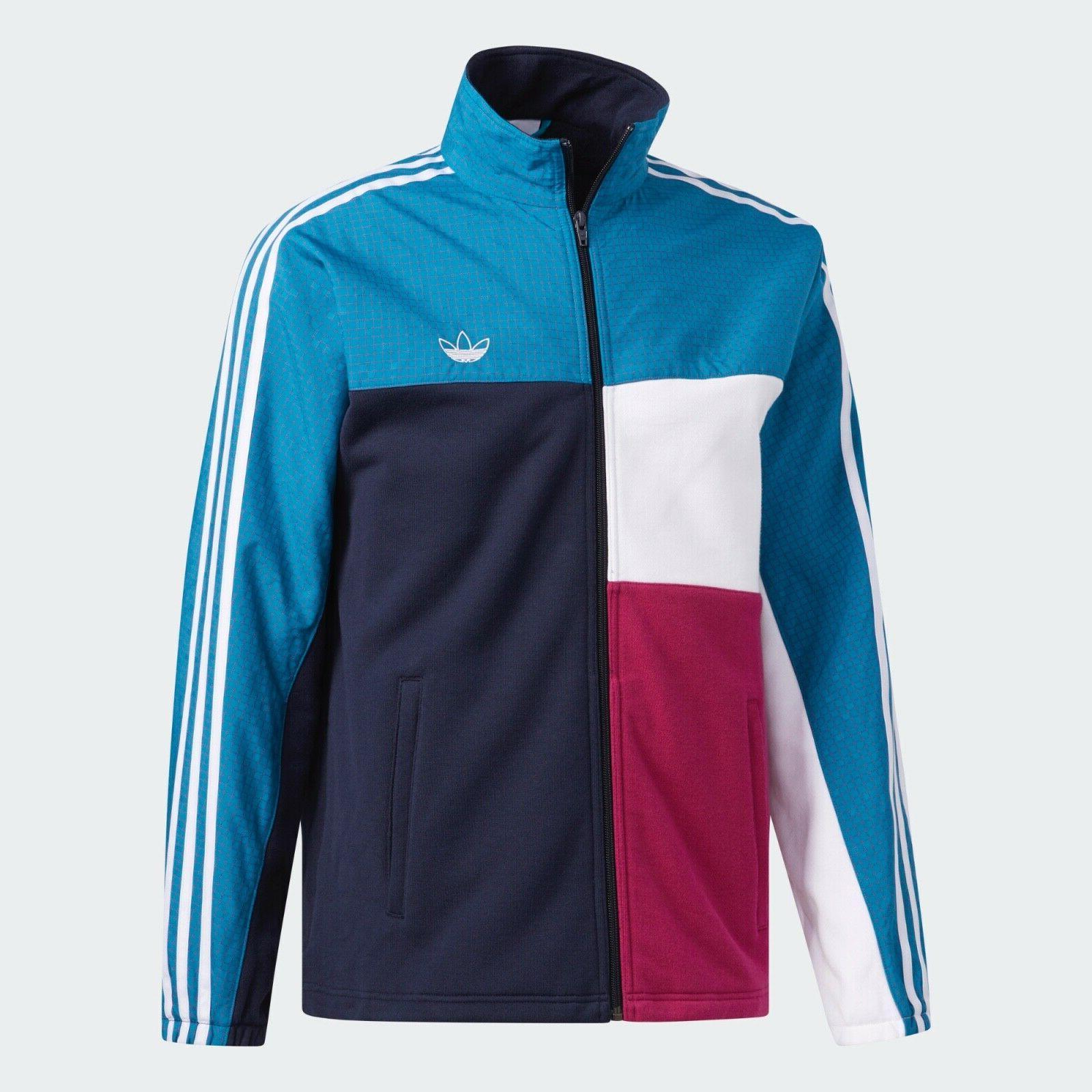 mens originals asymm full zip track jacket