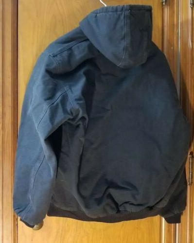 Carhartt Quilted Duck Hoodie Large