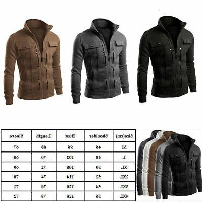 Mens Slim Jacket Outwear Blazer Hot