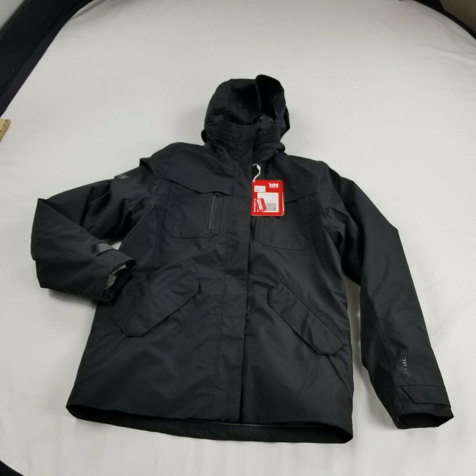 Helly mens Jacket 3 Mens coat black mn