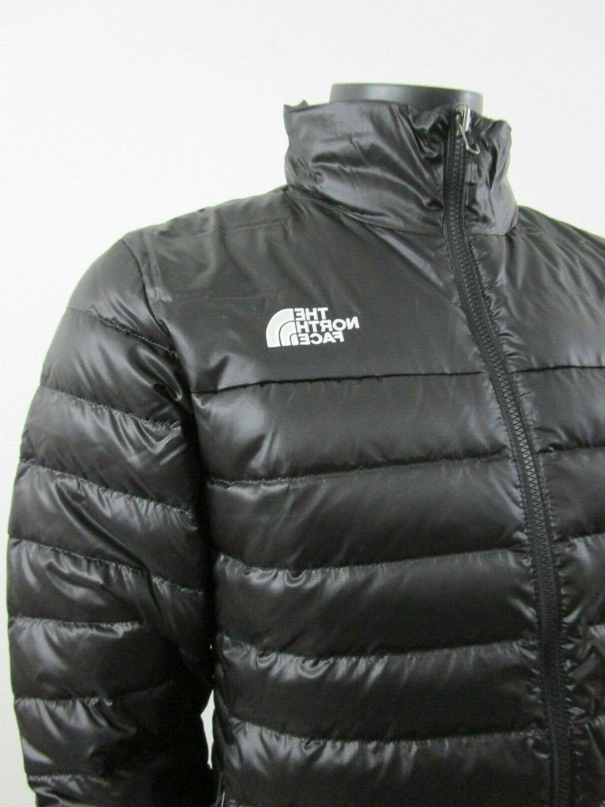 Mens The Face Flare 550-Down Insulated FZ - Black