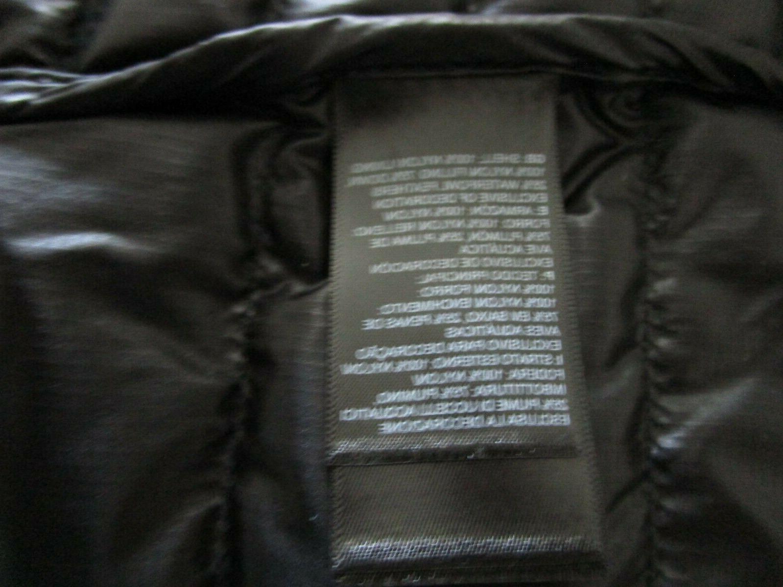 Mens TNF Face Flare Insulated FZ Puffer - Black