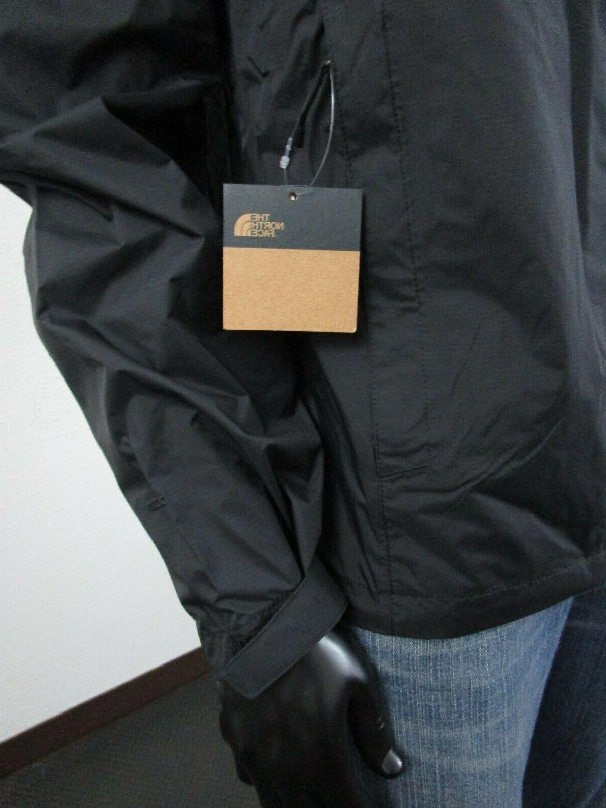 Mens North Face Venture Dryvent Hooded Rain Jacket Whit