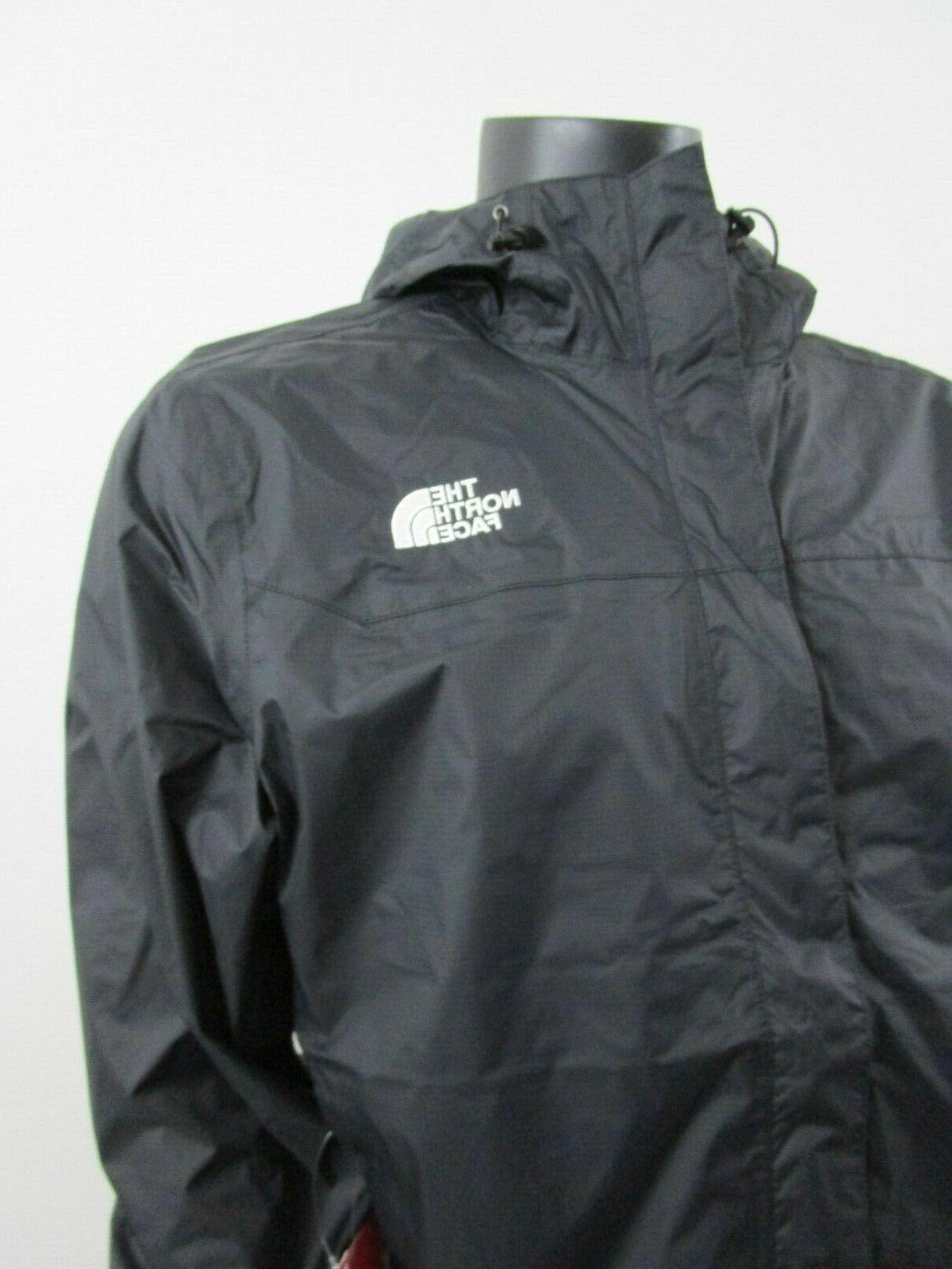 Mens The North Face Venture Dryvent Hooded Black Whit