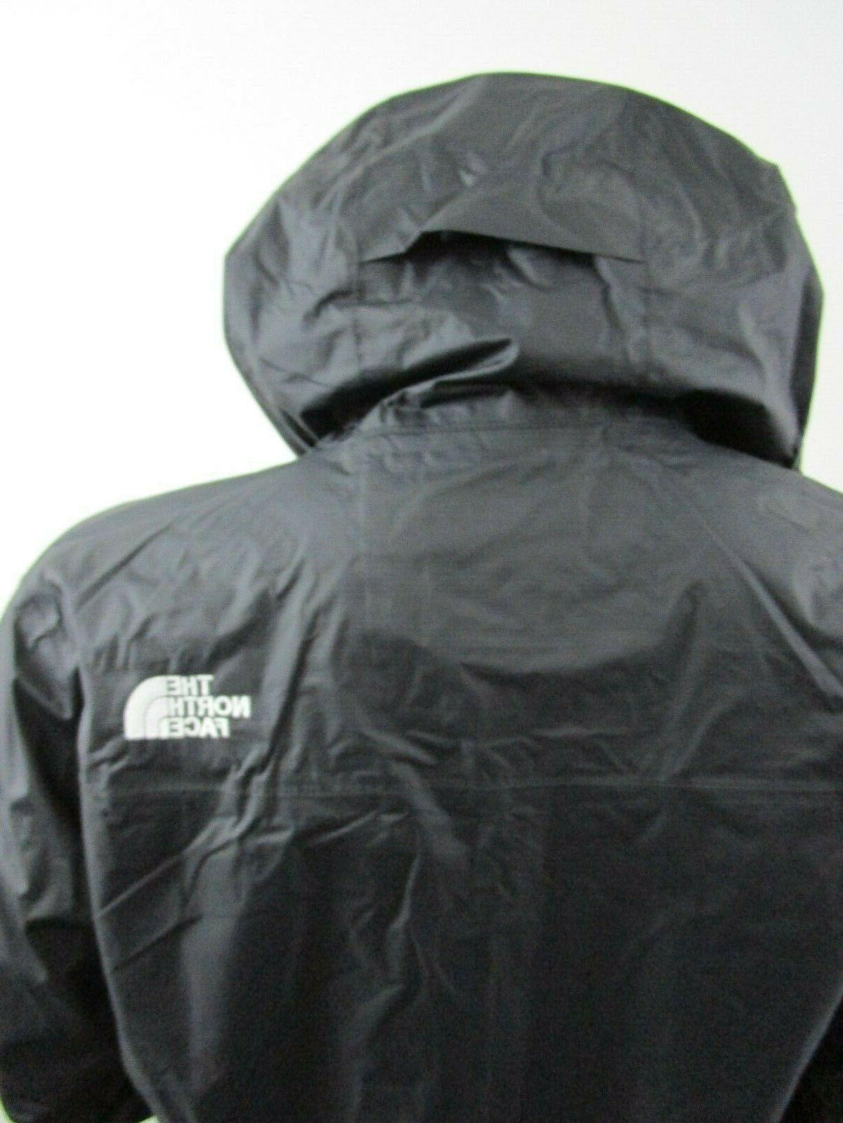 Mens TNF North Face Venture Hooded Rain Jacket Whit