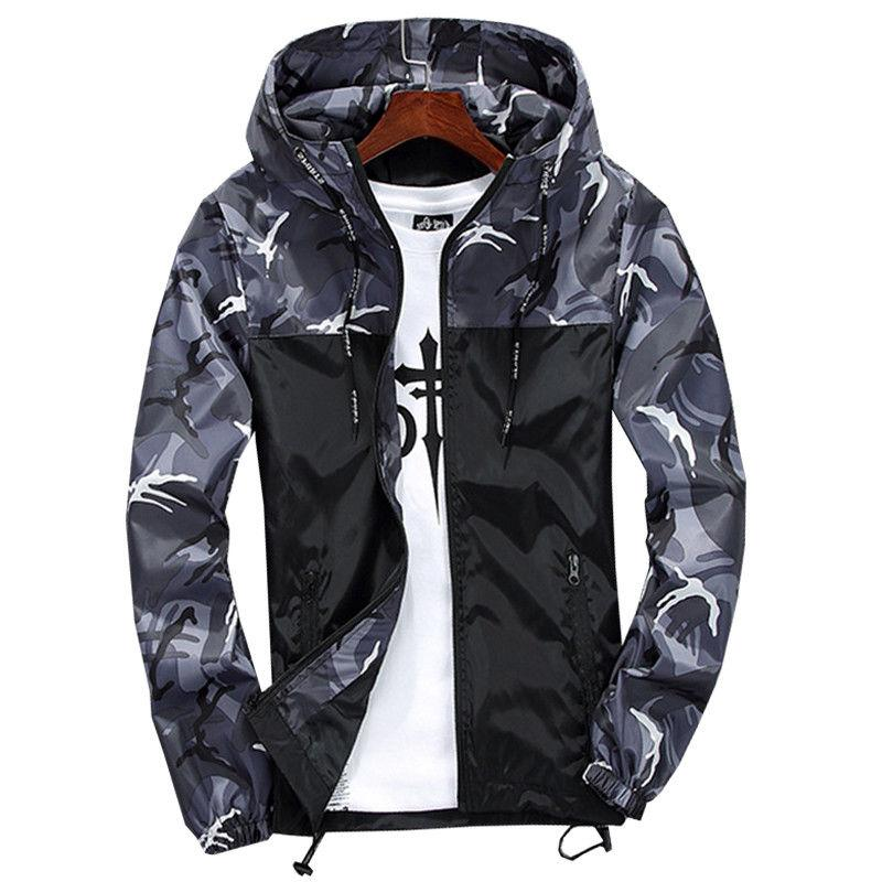 Mens Hiking Coat Winter Sport Casual Tops