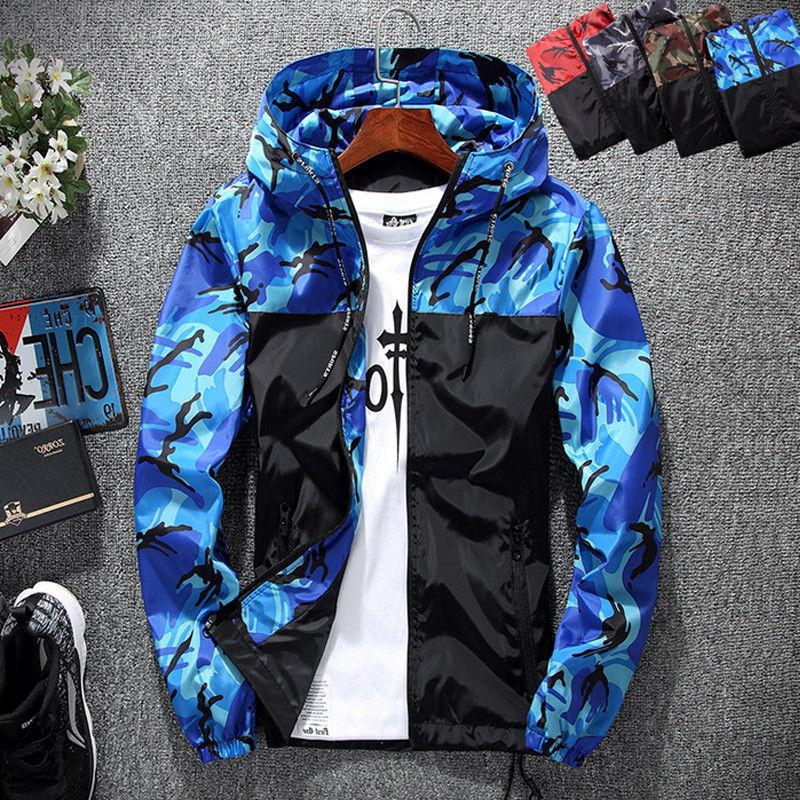 Mens Coat Winter Ski Outdoor Sport Casual Hoodie
