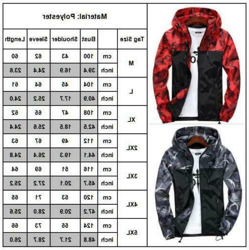 Mens Coat Winter Ski Outdoor Sport Hoodie US