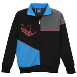 Adidas Originals Mens Modern Mix Track Jacket Black Small