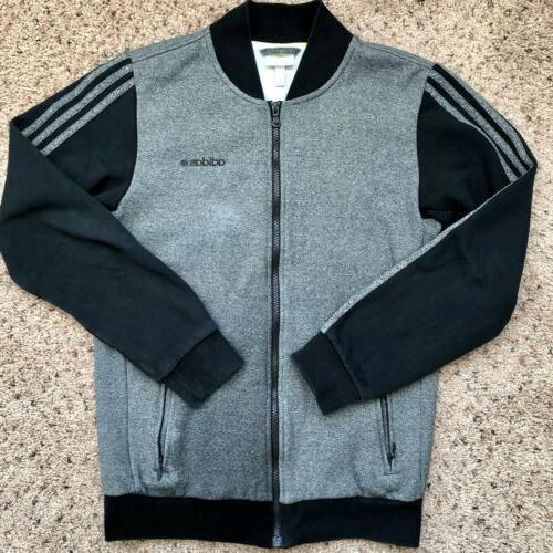 neo mens jacket size small gray