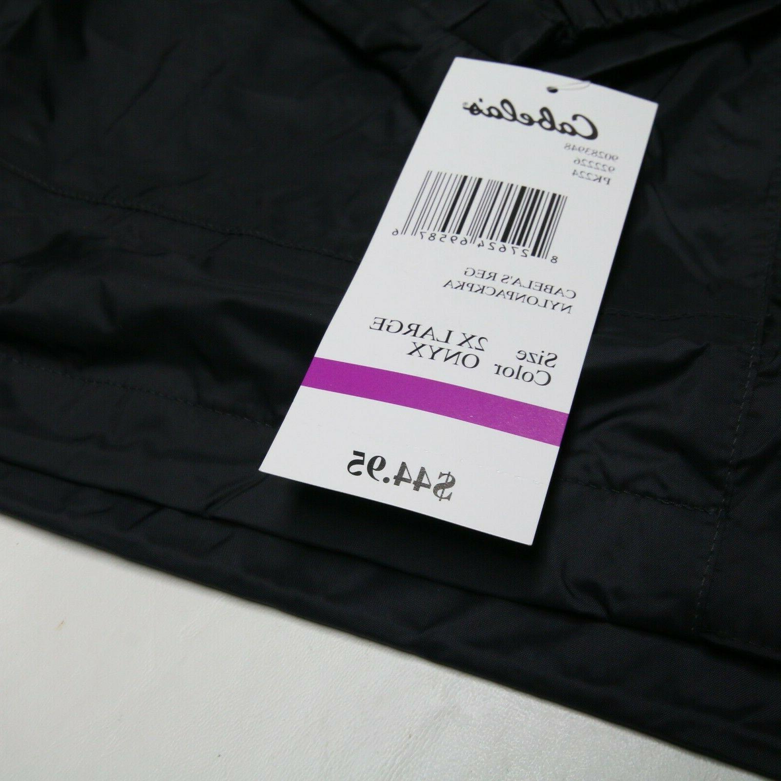 New 2XL Packable