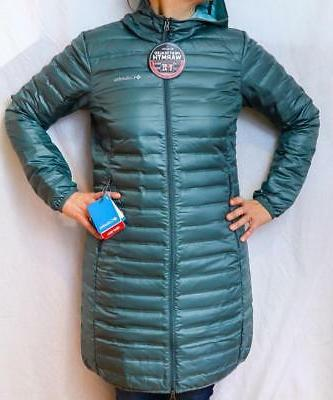 Columbia Womens Flash Forward Long Down Jacket
