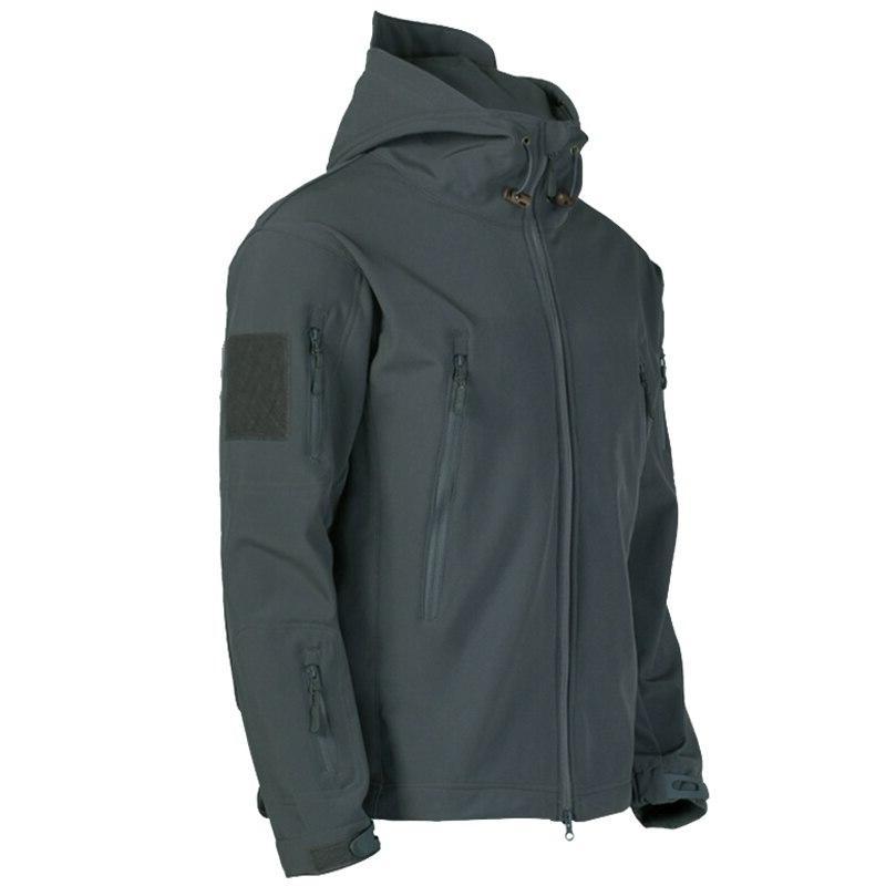 New Soft Tactical <font><b>Jacket</b></font> <font><b>Men</b></font> Windproof Soft Windbreaker Army