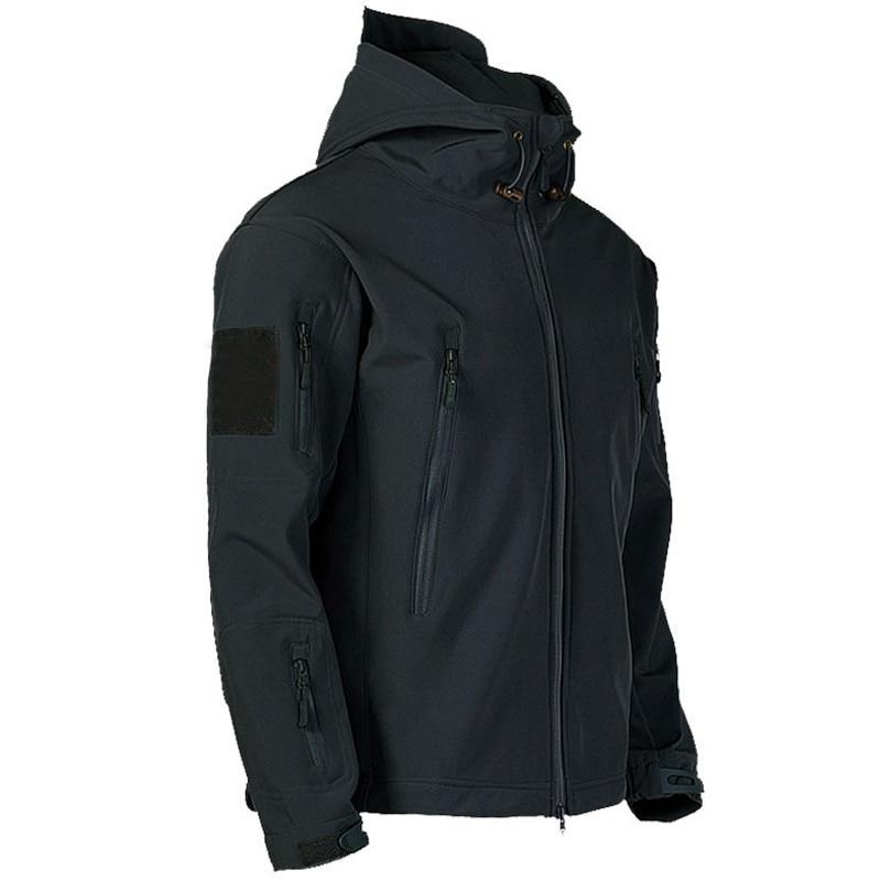 Soft <font><b>Shell</b></font> Windproof Army Coats