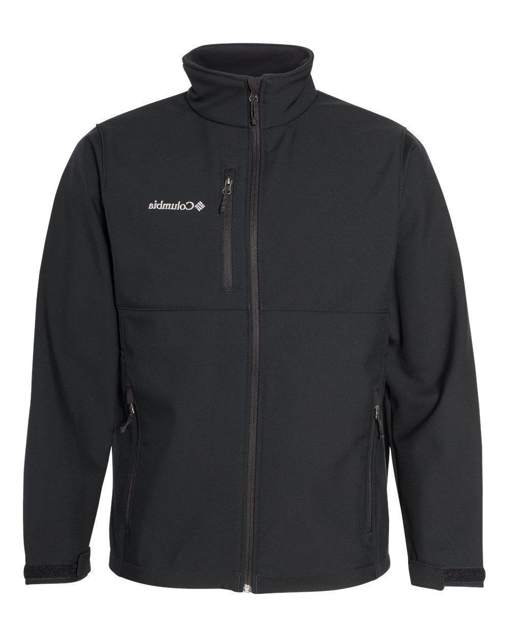 new men ascender softshell ii jacket black