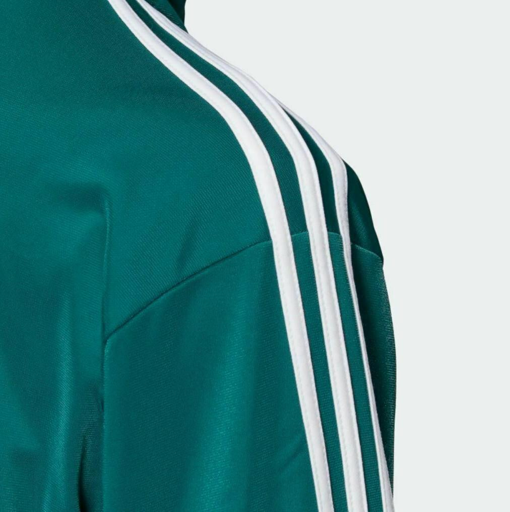 NEW MEN'S ADIDAS FIREBIRD JACKET LARGE #ED6072 GREEN