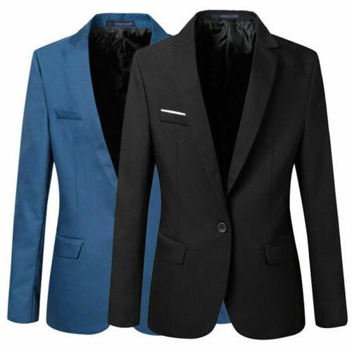 New Casual Fit Suit Blazer Business Coat Jacket With