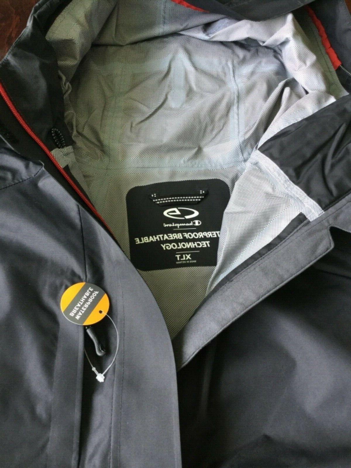 & C9 Black Waterproof Jacket