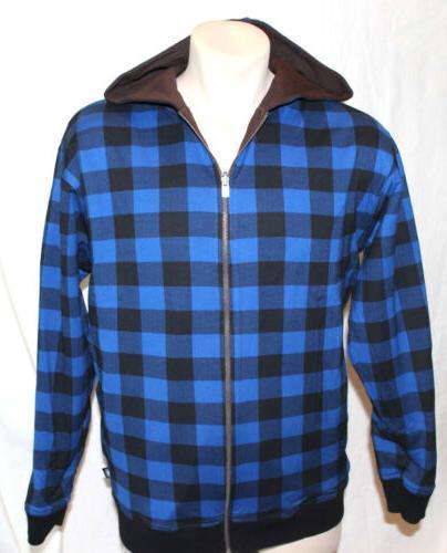 NEW Girl Skateboard Reversible Jacket & Blue Large