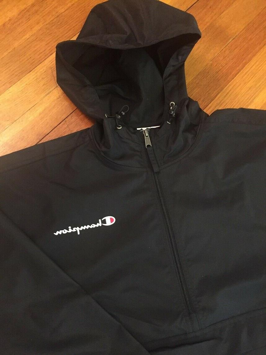 CHAMPION New Mens Jacket Hooded Anorak Over