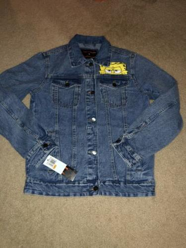Members Denim Jacket Size Small New