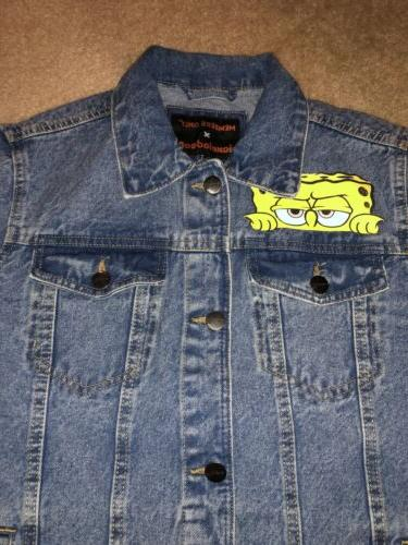 Members Only Denim Jean Jacket Mens Size Small