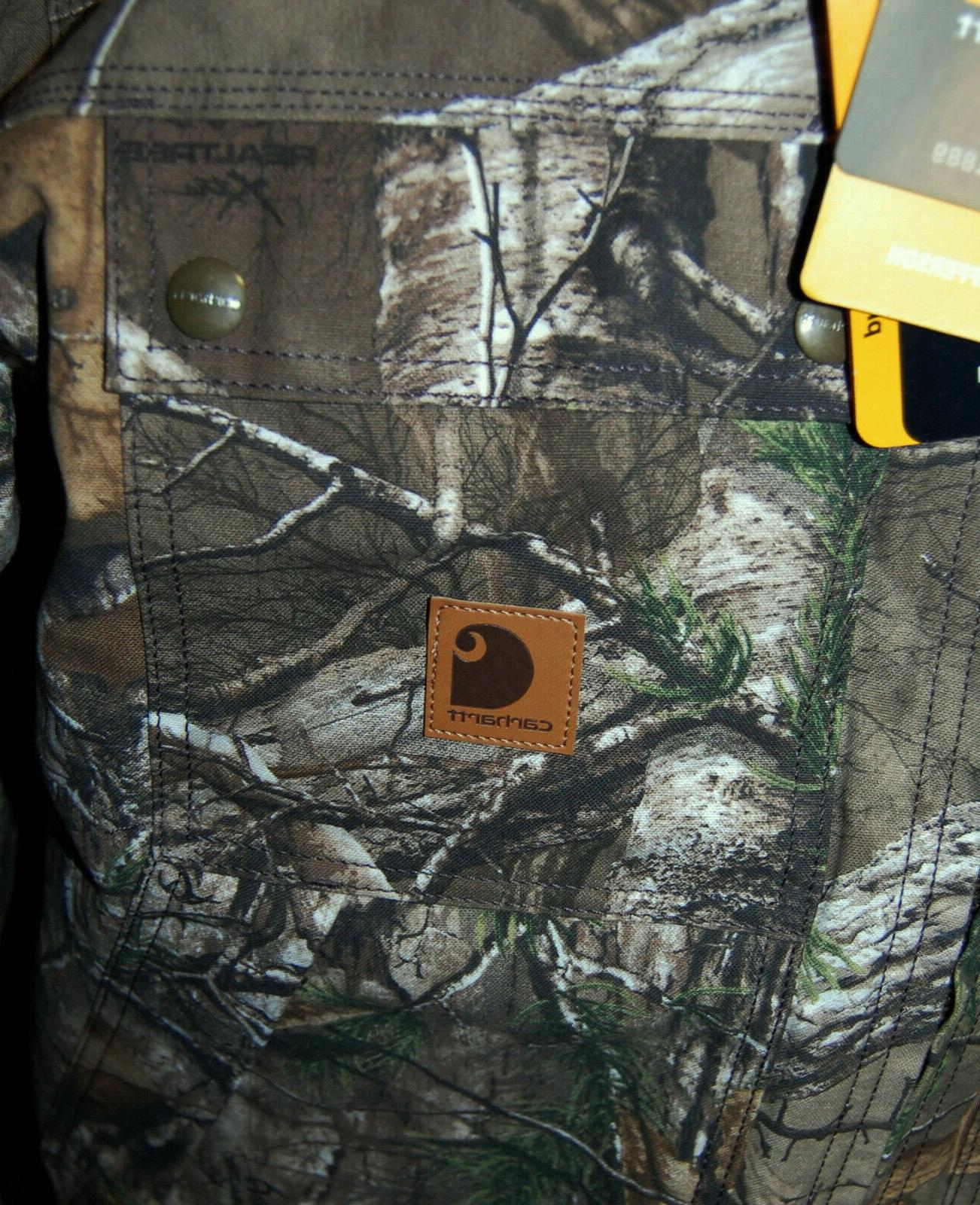 NWT CARHARTT Quick Duck Xtra Traditional $144