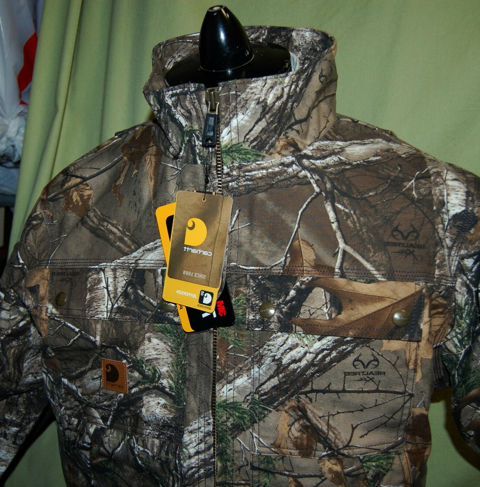 NWT 101444 Quick Camo Xtra Traditional Jacket $144