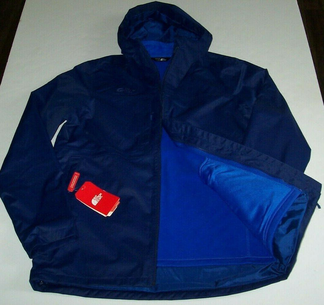NWT The North Face $219 FLAG BLUE Arrowood TRICLIMATE 3-in-1