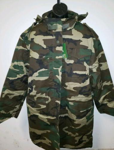 nwt army military style field tactical jacket