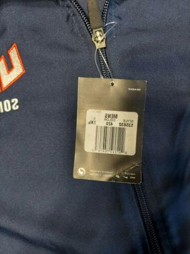 NWT Softball XXL Mens Full Zip