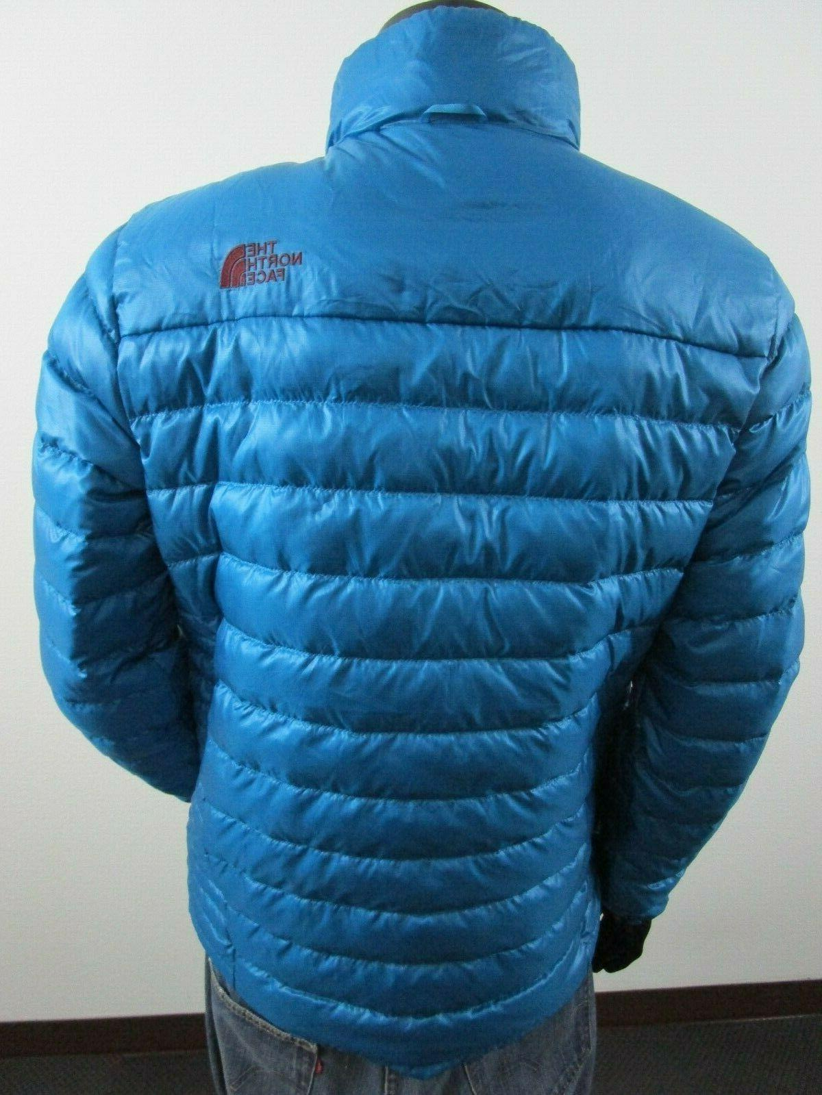 NWT Mens North Face Flare Insulated FZ Jacket - Blue