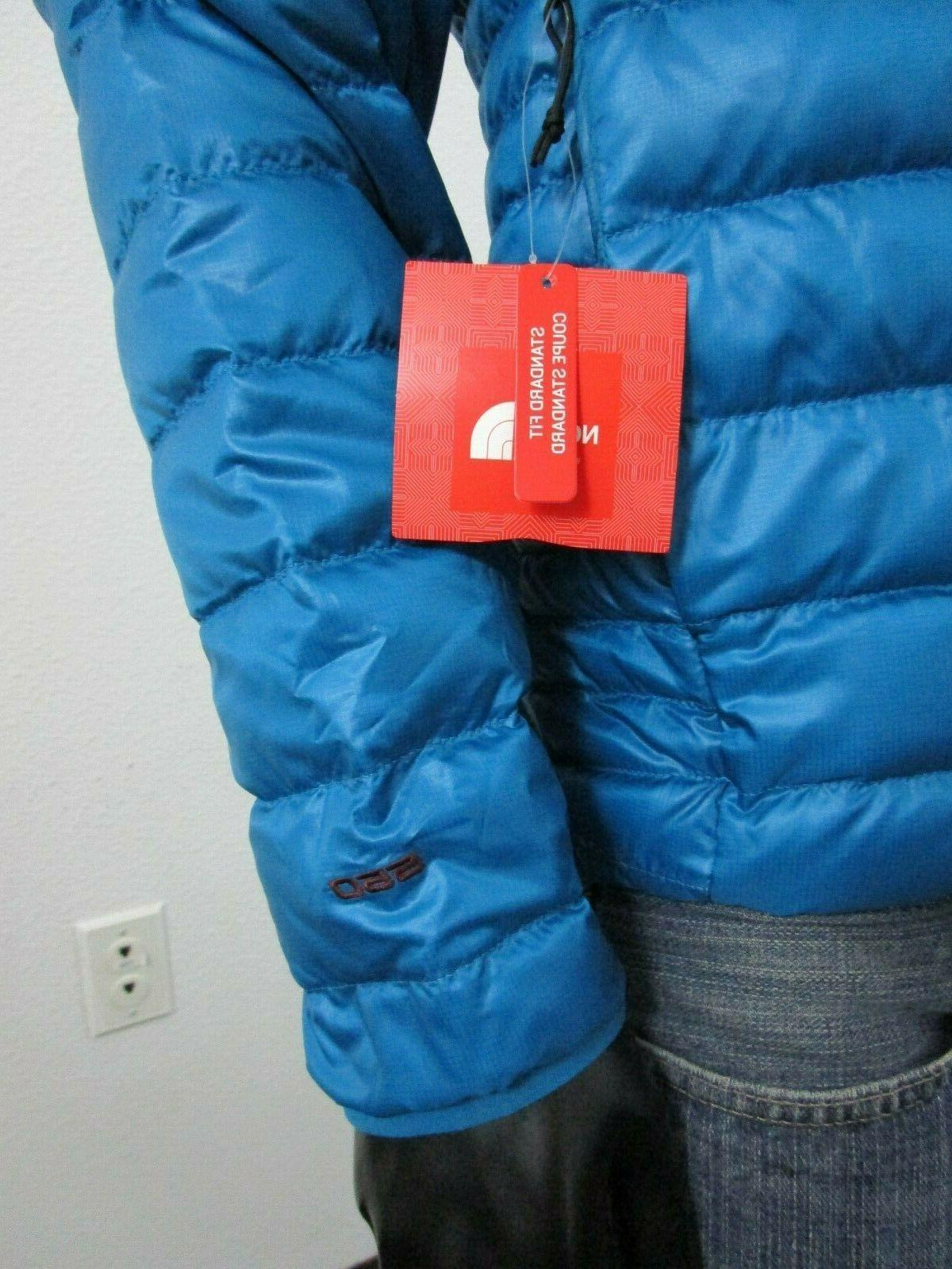 NWT Mens TNF The North Insulated - Blue