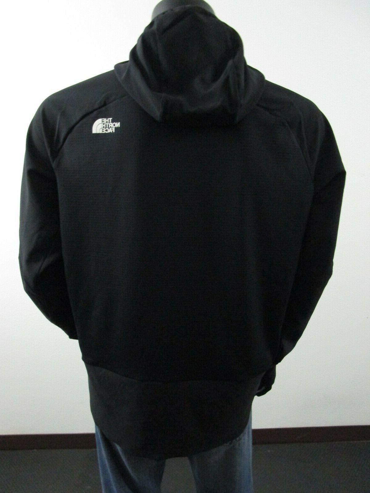 NWT Mens North Zip Hooded Steep Jacket Black