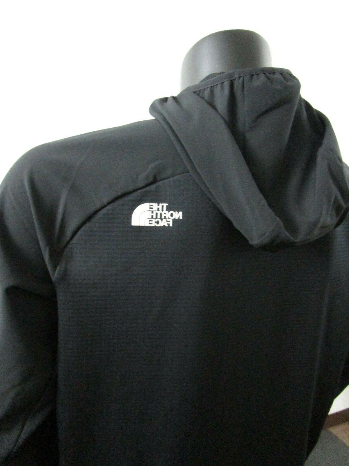 NWT North Face Resperator Zip Hooded Series Jacket Black