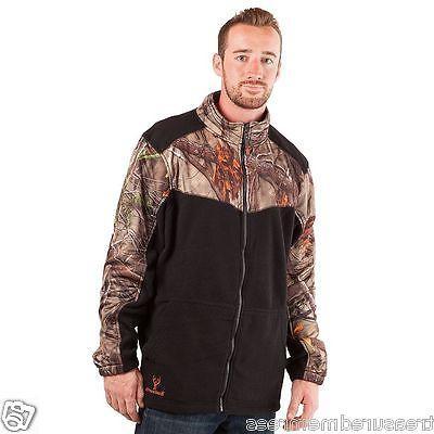 Men's Huntworth Oak Tree Camouflage Mid Weight Fleece Jacket