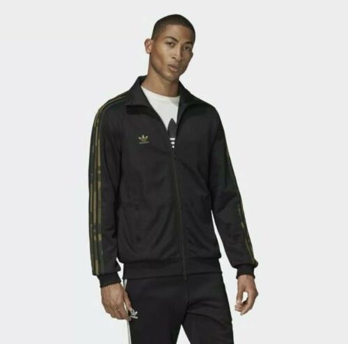 originals mens camo black multicolor track jacket